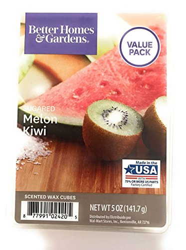 Better Homes & Gardens - Better Homes and Gardens Sugared Melon Kiwi Wax Cubes, 5 oz