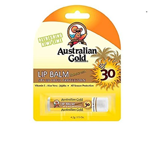 Australian Gold - Australian Gold Sunscreen Lip Balm Kiwi-Lime 4.2g SPF30