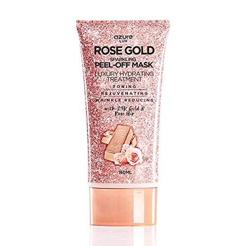 Azure Cosmetics - Rose Gold Luxury Sparkling Peel Off Moisturizing Mask