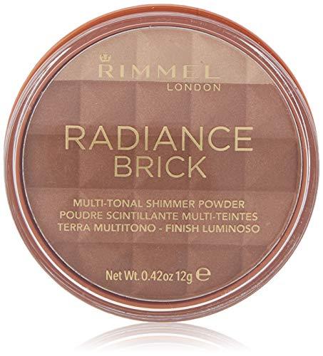 Rimmel - Rimmel Radiance Shimmer Brick Multi-Tonal Bronzer & Highlighter Palette- Medium