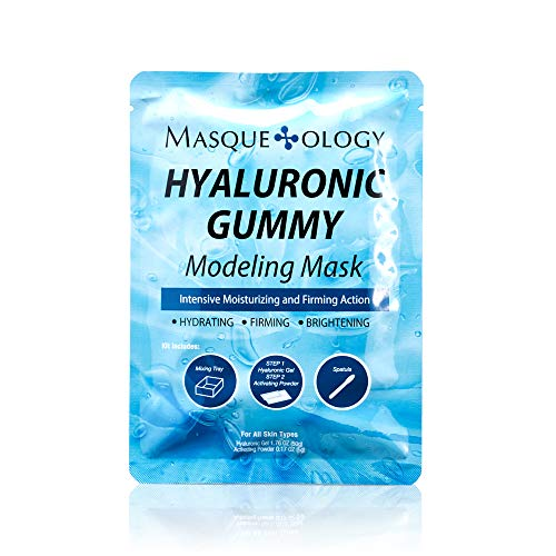 Masqueology - Masqueology - Hyaluronic Gummy Modeling Mask | Moisturizes, Smoothes and Firms Face (1 Count)