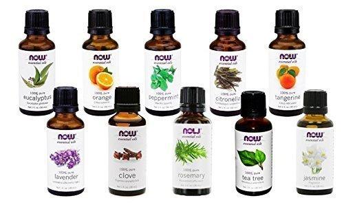 Now Foods - NOW Foods Essential Oils 10-Oil Variety Pack Sampler - 1oz Each