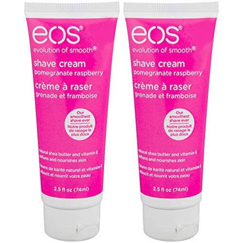 Eos - eos Shave Cream Pomegranate Raspberry, 2.5 Ounces Each (Value Pack of 12)