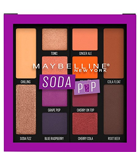 Maybelline - Eyeshadow Palette Makeup, Soda Pop