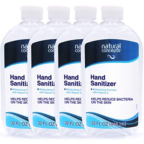 NATURAL CONCEPTS - Hand Sanitizer with Vitamin E, Made in Canada by Natural Concepts