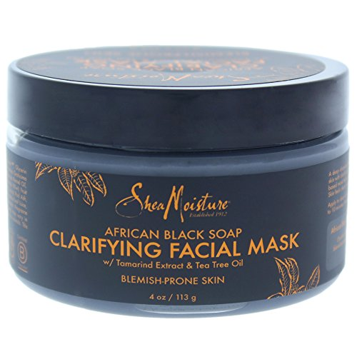 Sheamoisture - SheaMoisture African Black Soap Problem Skin Facial Mask, 4 Ounce