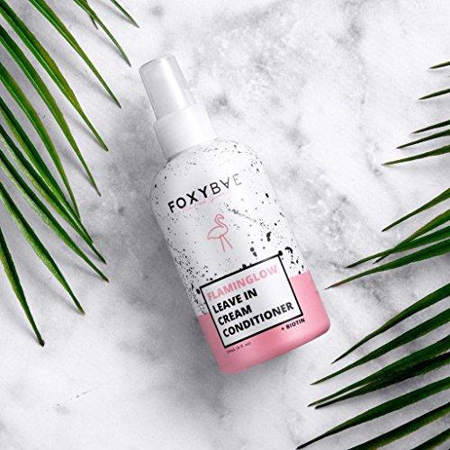 Foxybae - FlamingGlow Leave-In Cream Conditioner + Biotin