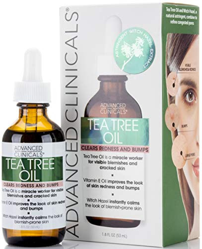 Advanced Clinicals - Tea Tree Oil for Redness and Bumps