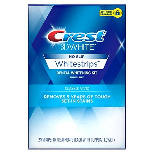 Crest - Crest 3D White Whitestrips Classic Vivid Teeth Whitening Kit