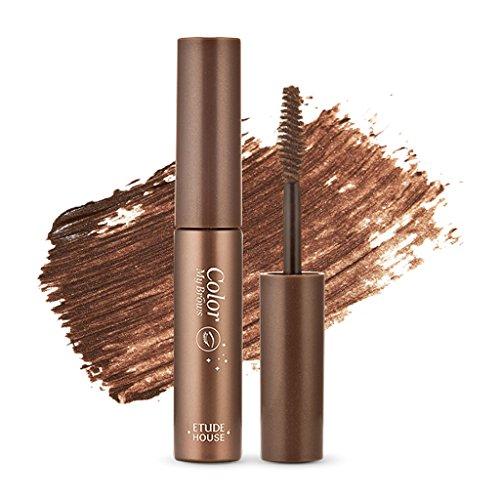 Etude House - ETUDE HOUSE Color My Brows 4.5g #1 Rich Brown - Eyebrow Mascara, Natural Eyebrow Makeup