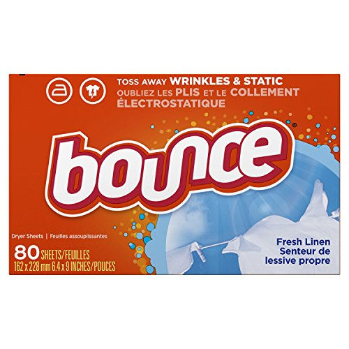 Bounce - Bounce Fresh Linen Scented Fabric Softener Dryer Sheets