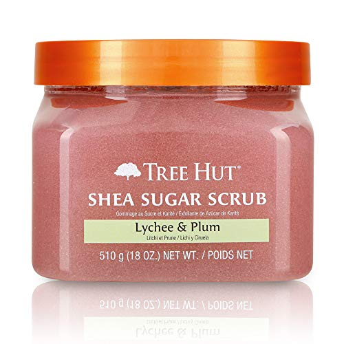 Tree Hut - Tree Hut Shea Sugar Scrub Lychee & Plum ~ 18 oz