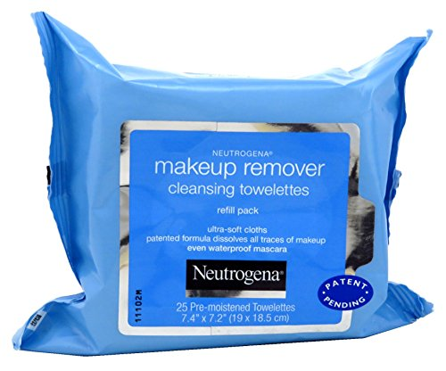 Neutrogena - Neutrogena Make-Up Remover Cleansing Towelettes Refills 25 Each (Pack of 10)