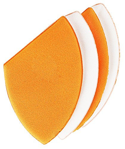 Real Techniques - Real Techniques Miracle Blotting Cushions (Pack of 4), Latex-Free, Polyurethane Foam, Multi-Purpose, Round Bottom Makeup Sponges, Ideal for Blending