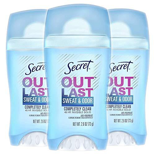 Secret - Secret Invisible Solid Anti-Perspirant & Deodorant, Powder Fresh 0.50 oz - Pack of 2