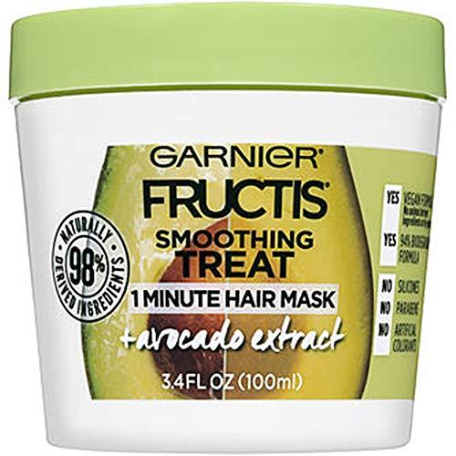 Garnier - Smoothing Treat 1 Minute Hair Mask + Avocado Extract