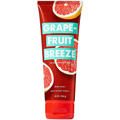 Bath & Body Works - Bath and Body Works Grapefruit Breeze Ultra Shea Body Cream (24 Hour Moisture) 8 Ounce