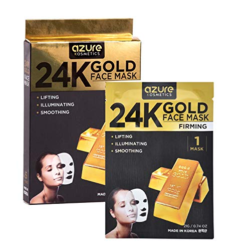 Azure Cosmetics - 24K Gold Firming Face Mask