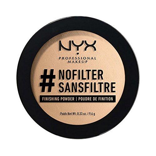 NYX - Nyx Professional Makeup Nofilter Finishing Powder, Medium Olive, 9.6g