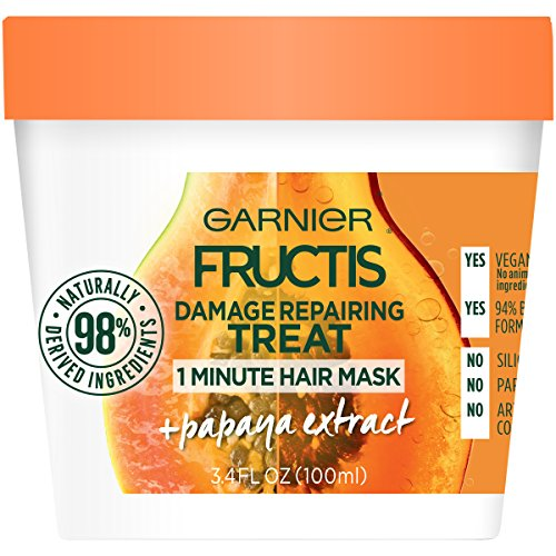 Garnier Fructis - Damage Repairing 1 Minute Hair Mask, Papaya