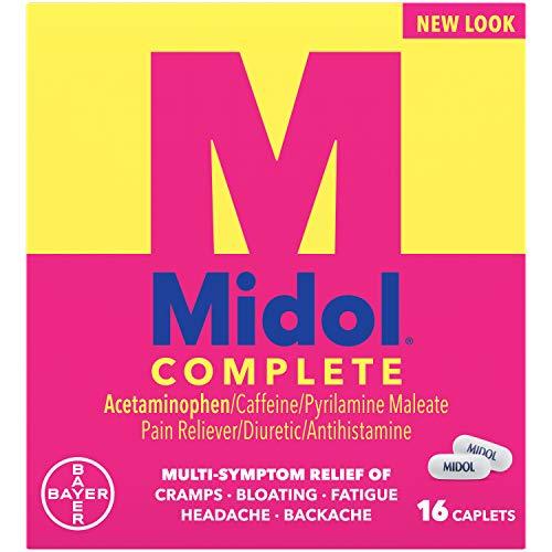 Midol - MIDOL CAPLETS MENSTR MAX/STR 16 by Midol
