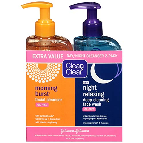 Clean & Clear - Day & Night Face Wash