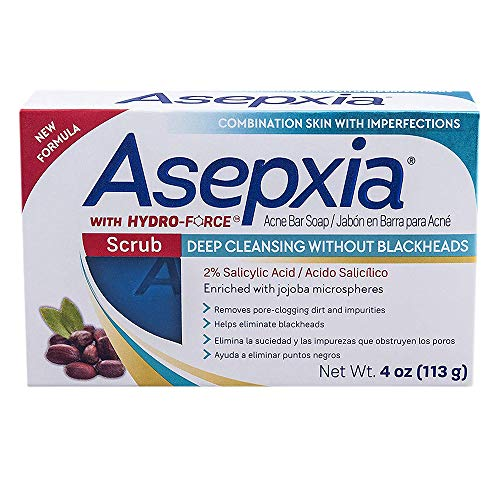 Asepxia - Asepxia Scrub Soap Bar for Combination Skin 4oz