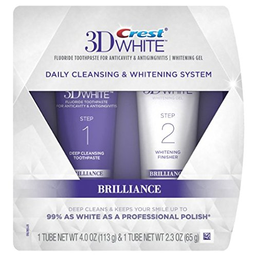 Crest - 3D White Brilliance Toothpaste and Whitening Gel System
