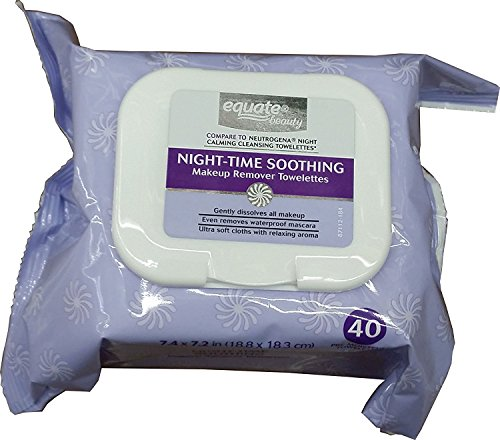 Equate - Beauty Night-Time Soothing Makeup Remover Towelettes