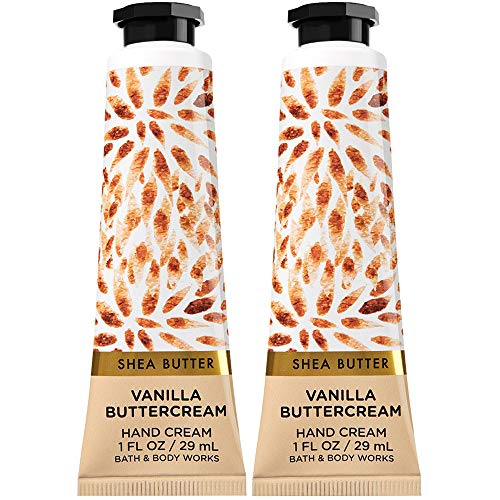 Bath & Body Works - Bath and Body Works 2 Pack Vanilla Buttercream Hand Cream with Shea Butter. 1 Oz.