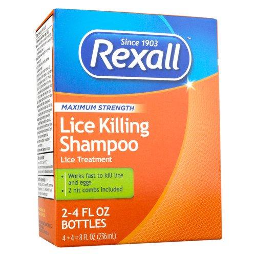 Rexall - Rexall Maximum Strength Lice Killing Shampoo, 2 Pack