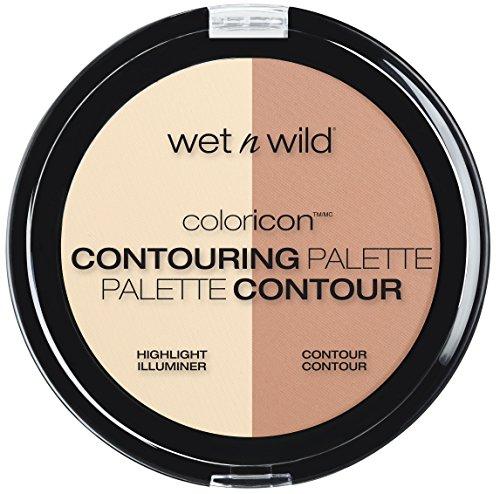 Wet N' Wild - wet n wild Megaglo Contouring Palette, Dulce De Leche, 0.44 Ounce (Pack of 3)