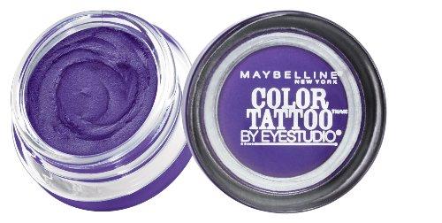 Maybelline - Maybelline EyeStudio Color Tattoo 24Hr Eyeshadow, Painted Purple [20], 0.14 oz