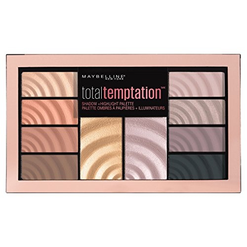 Maybelline - Total Temptation Eyeshadow + Highlight Palette