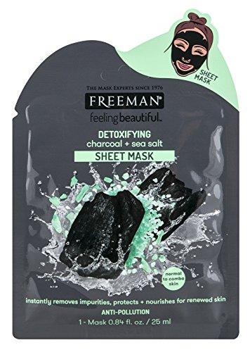 Freeman - Charcoal+Sea Salt Detoxify Sheet Mask