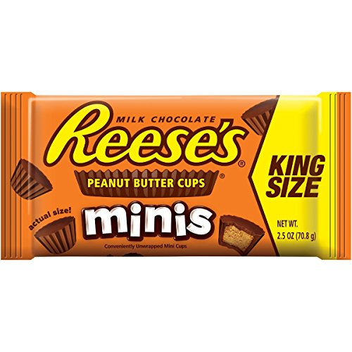 Reese - 2.5 Oz. King Size Reese's Mini Peanut Butter Cups