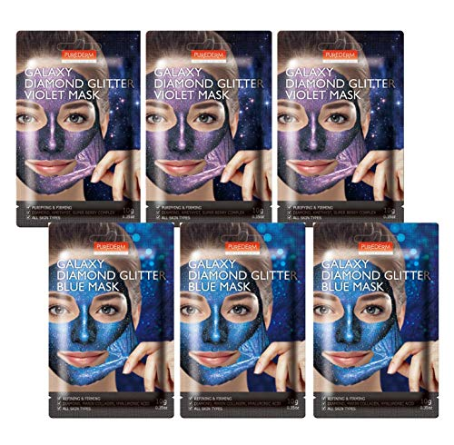 Purederm - Galaxy Diamond Glitter Mask