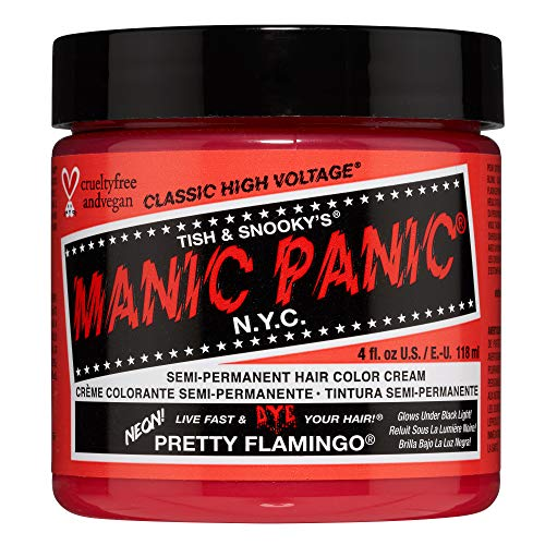 Manic Panic Manic Panic Semi-Permanent Hair Dye, Pretty Flamingo