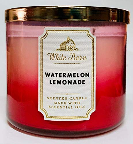 White Barn - White Barn Bath and Body Works Watermelon Lemonade 3 Wick Candle 2019
