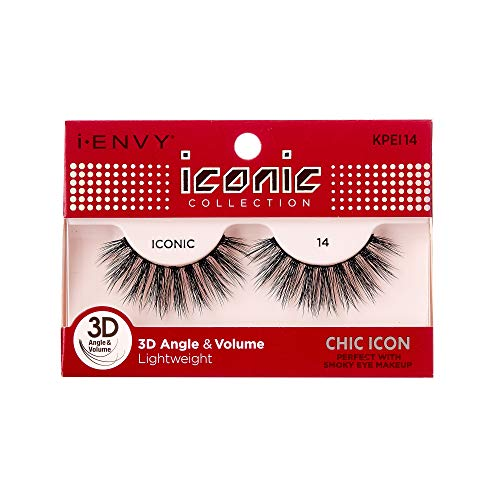 Kiss - i Envy by Kiss iconic 3D Angle & Volume Lashes CHIC ICON 14 (2 Pack)