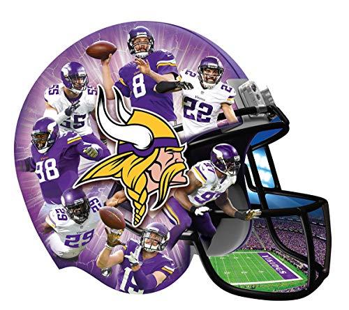 MasterPieces MasterPieces NFL Minnesota Vikings 500 Piece Helmet Shaped Puzzle