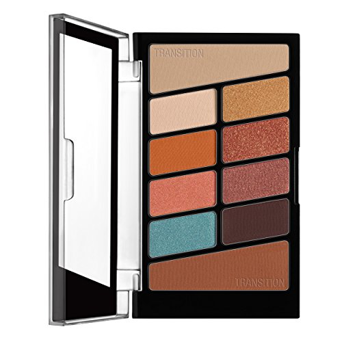 Wet N' Wild - wet n wild Color Icon Eyeshadow 10 Pan Palette, Not a Basic Peach, 0.3 Ounce