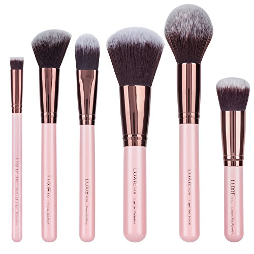 Luxie - Luxie Rose Gold Face Essential Brush Set