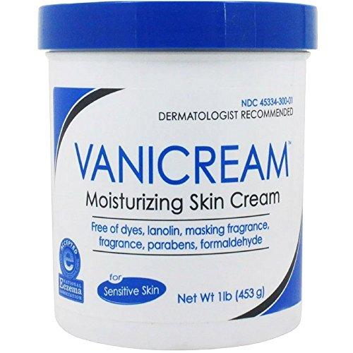 Vanicream - Vanicream Moisturizing Skin Cream for Sensitive Skin 1lb (Pack of 2)