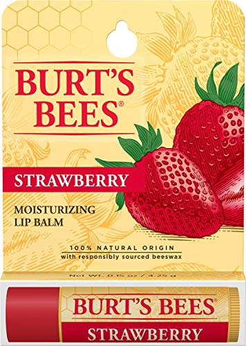 Burts Bees - Moisturizing Lip Balm, Strawberry