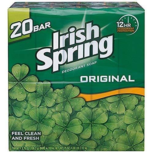 Irish Spring - Irish Spring Deodorant Soap Original Scent - 20 ct
