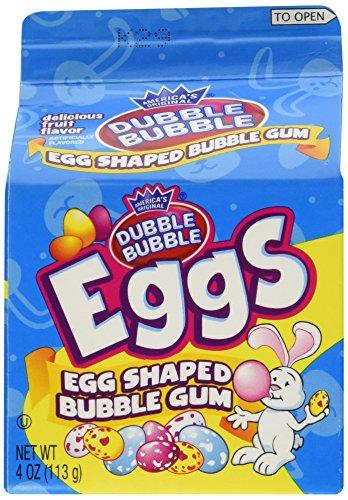 Dubble Bubble Dubble Bubble Gum Eggs Carton 4.0oz