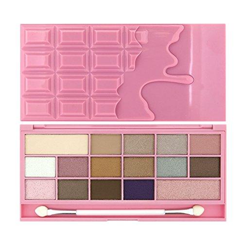 Makeup Revolution - Makeup Revolution Chocolate Bar Eyeshadow Palette, Pink Fizz