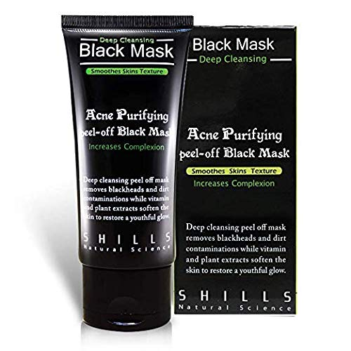 SHILLS - Blackhead, Wrinkles, Anti Acne Black Mask