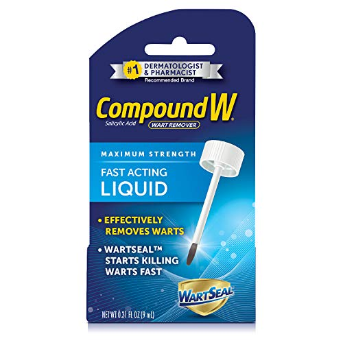 Compound W - Compound W Wart Remover, Maximum Strength, Fast-Acting Liquid, 0.31 fl oz